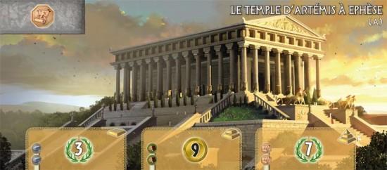 7 Wonders : temple d'Artémis à Ephèse